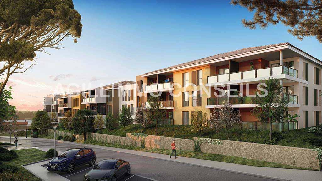 Appartement T3 neuf avec terrasse et parking - DRAGUIGNAN Var