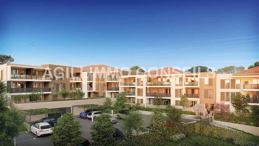 Appartement neuf T2 avec box et terrasse - DRAGUIGNAN