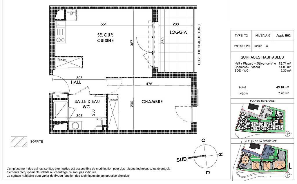 Appartement neuf T2 avec box et terrasse - DRAGUIGNAN Var