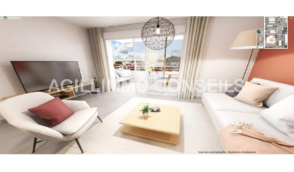 Appartements neufs au coeur du centre ville - PUGET SUR ARGENS