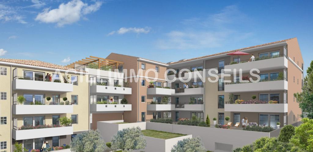 Appartements neufs au coeur du centre ville - PUGET SUR ARGENS Var