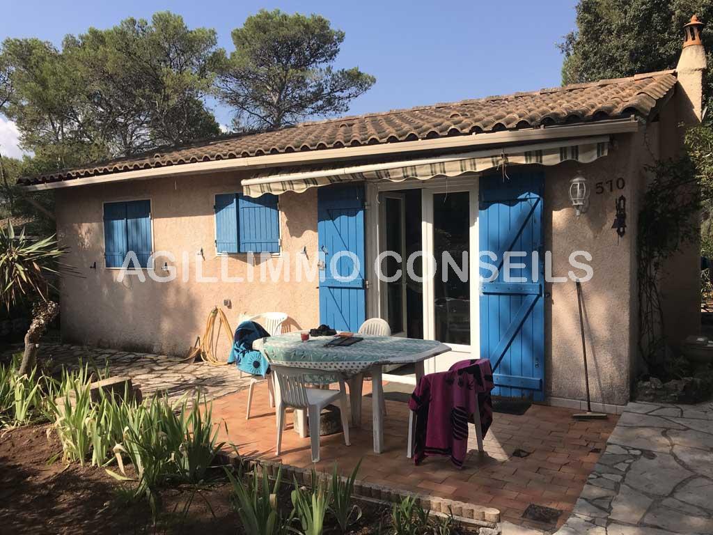 Villa 3 pièces dans un domaine fermé - PUGET SUR ARGENS