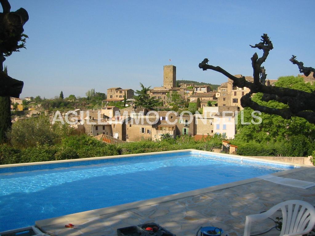 Villa avec vue imprenable et piscine - LES ARCS