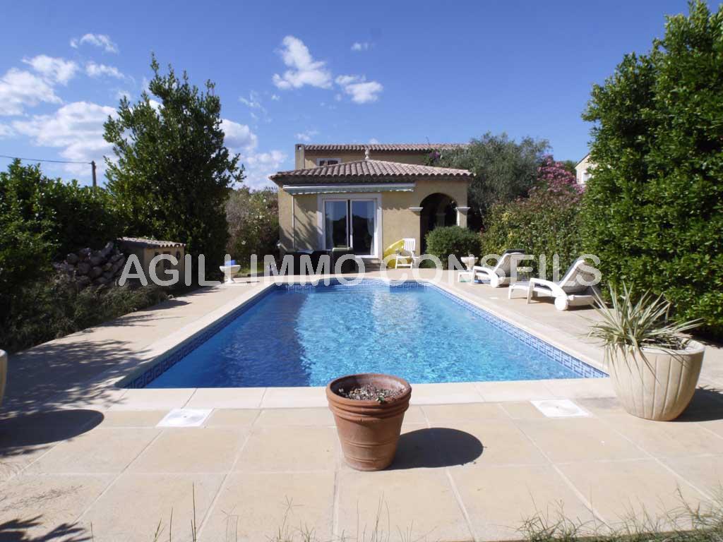 Villa avec piscine - PUGET SUR ARGENS