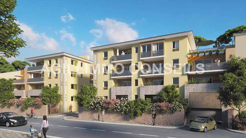 Appartements neufs centre-village - PUGET SUR ARGENS