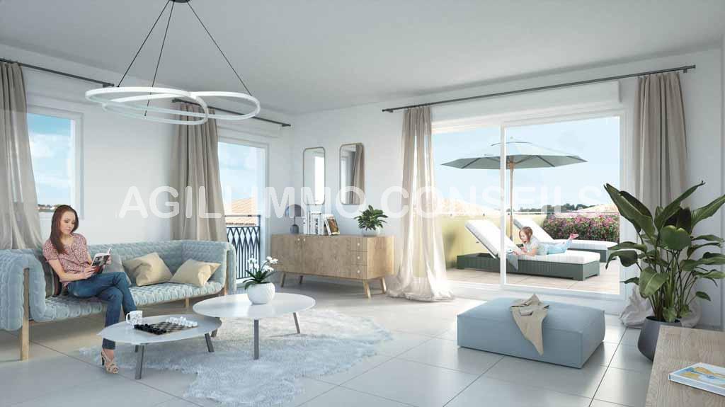 Appartements neufs centre-village - PUGET SUR ARGENS Var