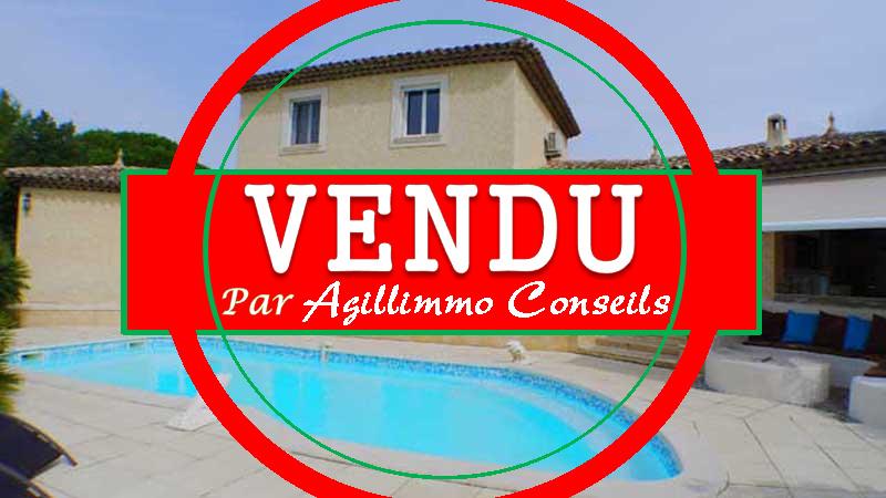 Villa provençale avec belles prestations dans le Var - PUGET SUR ARGENS