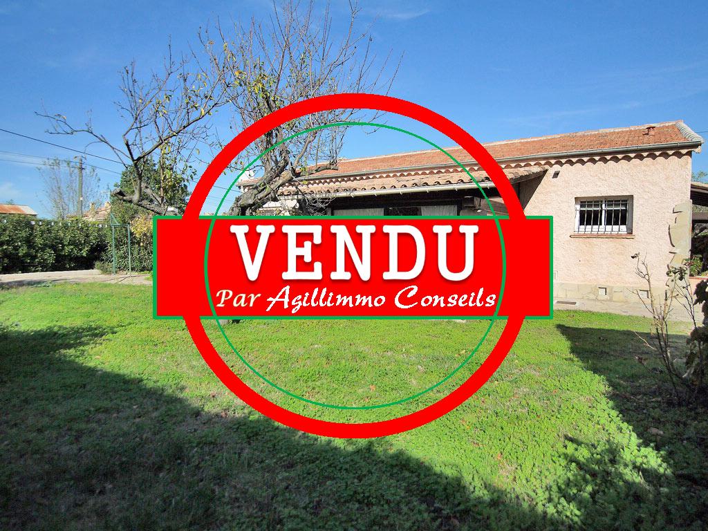 Charmante villa 4P de PP avec garage et dépendances - PUGET SUR ARGENS
