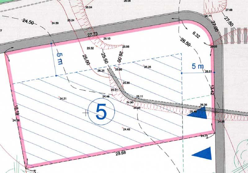 Terrain viabilisé 560 m2 PUGET SUR ARGENS